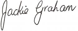 Jackie Graham Signature